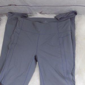 Athleta straight leg gray leggings XLT